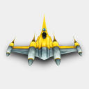 Icon: NabooBomber, star-wars archigraphs, Pixel: 128 x 128 px