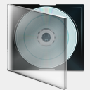 Icon: Boite Cd, bagg-and-boxs babasse, Pixel: 128 x 128 px