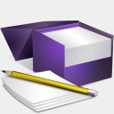 Icon: Box Notes V2, bagg-and-boxs babasse, Pixel: 128 x 128 px