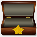 Icon: Favoris Box, bagg-and-boxs babasse, Pixel: 128 x 128 px