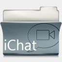 Icon: iChat, imod babasse, Pixel: 128 x 128 px