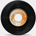 Icon: CD Old School, old-school babasse, Pixel: 128 x 128 px
