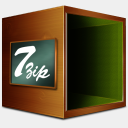 Icon: Fichiers Compresse 7zip, old-school babasse, Pixel: 128 x 128 px