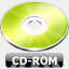 Icon: CD-ROM, summer-collection benjigarner, Pixel: 64