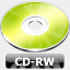 Icon: CD-RW, summer-collection benjigarner, Pixel: 64