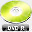 Icon: DVD-R, summer-collection benjigarner, Pixel: 64