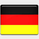 Icon: Germany-Flag, flag-2 custom-icon-design, Pixel: 128 x 128 px