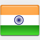 Icon: India-Flag, flag-2 custom-icon-design, Pixel: 128 x 128 px