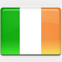 Icon: Ireland-Flag, flag-2 custom-icon-design, Pixel: 128 x 128 px