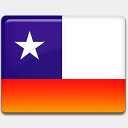 Icon: Chile-Flag, flag custom-icon-design, Pixel: 128 x 128 px