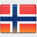 Icon: Norway-Flag, flag custom-icon-design, Pixel: 128 x 128 px