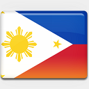 Icon: Philippines-Flag, flag custom-icon-design, Pixel: 128 x 128 px