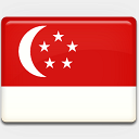 Icon: Singapore-Flag, flag custom-icon-design, Pixel: 128 x 128 px