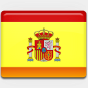 Icon: Spain-Flag, flag custom-icon-design, Pixel: 128 x 128 px