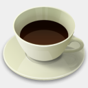 Icon: coffee-cup, breakfast cute-little-factory, Pixel: 128 x 128 px
