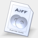 Icon: Aiff, aqcua dimension-of-deskmod, Pixel: 128 x 128 px