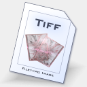 Icon: Tiff, aqcua dimension-of-deskmod, Pixel: 128 x 128 px