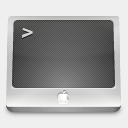Icon: Terminal, micro dimension-of-deskmod, Pixel: 128 x 128 px