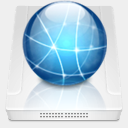 Icon: iDisk HD, micro dimension-of-deskmod, Pixel: 128 x 128 px