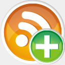 Icon: Rss Add, aesthetica-2 dryicons, Pixel: 128 x 128 px