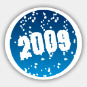 Icon: Merry Christmas 2009, christmas-2009 dryicons, Pixel: 128 x 128 px