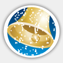 Icon: Merry Christmas Bell, christmas-2009 dryicons, Pixel: 128 x 128 px