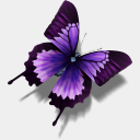 Icon: Other Butterfly, kaori dunedhel, Pixel: 128 x 128 px