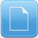 Icon: Documents, leopard-iphone fasticon, Pixel: 128 x 128 px