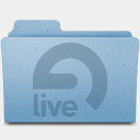Icon: Ableton Live, leopard-extra-folders gordon-irving, Pixel: 128 x 128 px