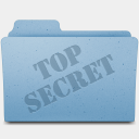 Icon: Top-Secret, leopard-extra-folders gordon-irving, Pixel: 128 x 128 px