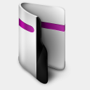 Icon: Folder Purple, iconfinder iconfinder, Pixel: 128 x 128 px