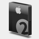 Icon: Drive Slim Bay 2 Apple, icons-10-bundle icontoaster, Pixel: 128 x 128 px