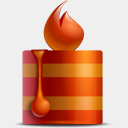 Icon: candle, merry-christmas jj-maxer, Pixel: 128 x 128 px