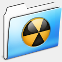 Icon: Burnable Folder Smooth, cats mcdo-design, Pixel: 128 x 128 px