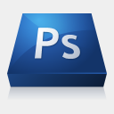 Icon: Adobe-Photoshop, adobe-cs3 media-design, Pixel: 128 x 128 px
