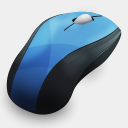 Icon: HP-Mouse, hydropro-hardware media-design, Pixel: 128 x 128 px