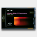 Icon: Sony-MSAC-PC2-Memory-Stick, pc-card-readers newformula.org, Pixel: 128 x 128 px