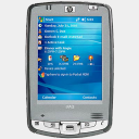Icon: HP-iPaq-hx-2495, mobile-device pierocksmysocks, Pixel: 128 x 128 px