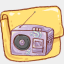 Icon: hp-folder-music, harmonia-pastelis raindropmemory, Pixel: 64