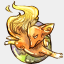 Icon: Fire Fox, legendora raindropmemory, Pixel: 64