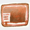 Icon: Desktop, red-little-shoes raindropmemory, Pixel: 128 x 128 px