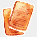 Icon: Document, red-little-shoes raindropmemory, Pixel: 128 x 128 px