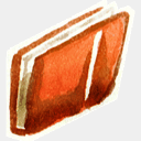 Icon: Folder-0, red-little-shoes raindropmemory, Pixel: 128 x 128 px