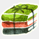 Icon: Rar, red-little-shoes raindropmemory, Pixel: 128 x 128 px