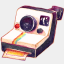 Icon: Camera Polariod, summer-love-cicadas raindropmemory, Pixel: 64
