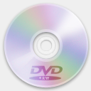 Icon: Device Optical DVD Plus RW, nod rimshotdesign, Pixel: 128 x 128 px