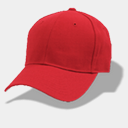 Icon: Hat-baseball-red, hat rob-sanders, Pixel: 128 x 128 px