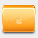 Icon: Folder Apple Close, eicodesign rokey, Pixel: 128 x 128 px