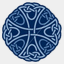 Icon: Blueknot 4, celtic-knot shiftercat, Pixel: 64