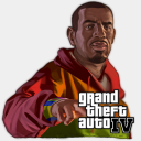 Icon: Playboy-X, gta th3-prophetman, Pixel: 128 x 128 px